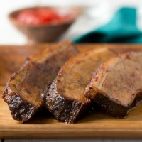 sweet and spicy beef brisket