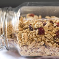easy, healthy, homemade granola
