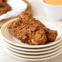 pretzel fried chicken