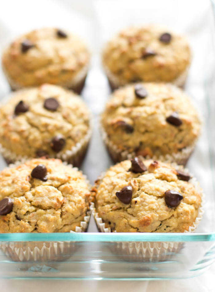 superfood banana nut muffins